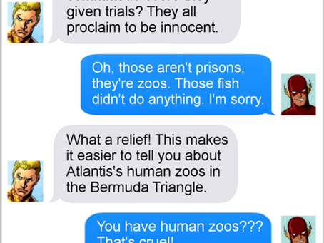 Texts From Superheroes: Prison