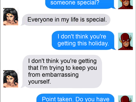 Texts From Superheroes: Get The Hint