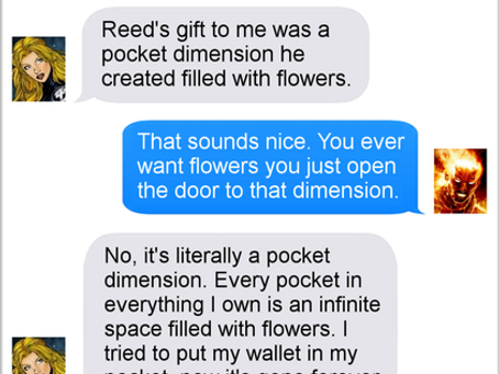 Texts From Superheroes: Mother's Day