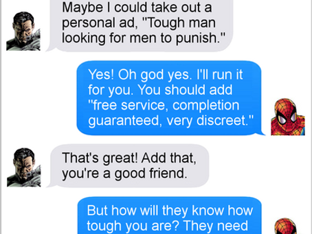 Texts From Superheroes: Personal Ad