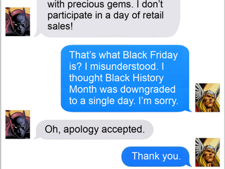 Texts From Superheroes: Show Me The Money