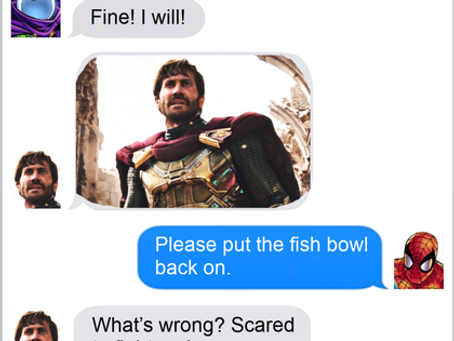 Texts From Superheroes: Don't Believe Your Eyes