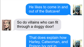 Texts From Superheroes: If The Door Fits