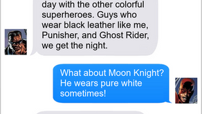 Texts From Superheroes: Dress Code
