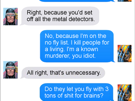 Texts From Superheroes: Detected