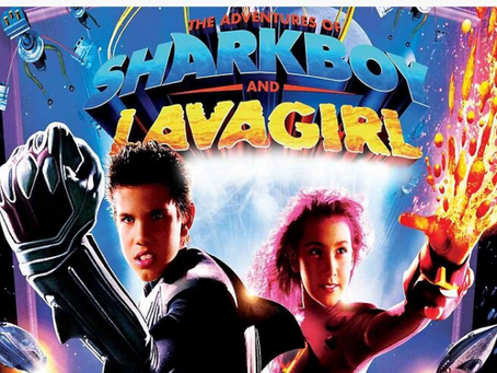 Talk From Superheroes: Sharkboy and Lavagirl