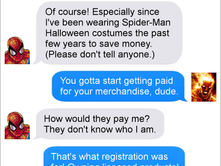 Texts From Superheroes: The Best of Halloween