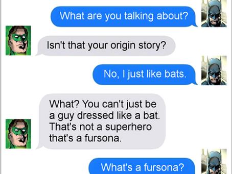 Texts From Superheroes: I'm Batman