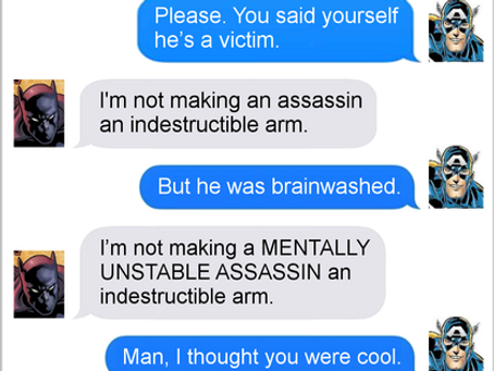 Texts From Superheroes: Arm Yourself
