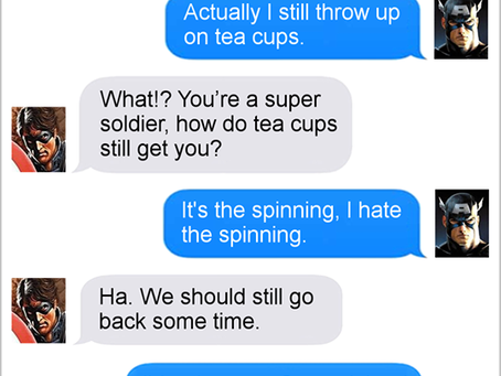Texts From Superheroes: Coney Island