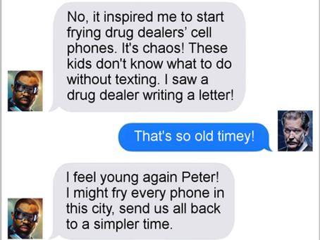 Texts From Superheroes: Tactics