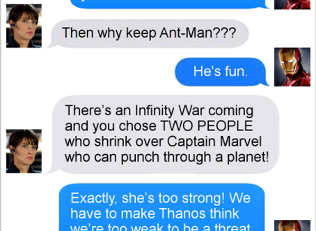 Texts From Superheroes: Bad Strategy
