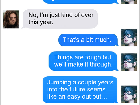 Texts From Superheroes: Fast Forward