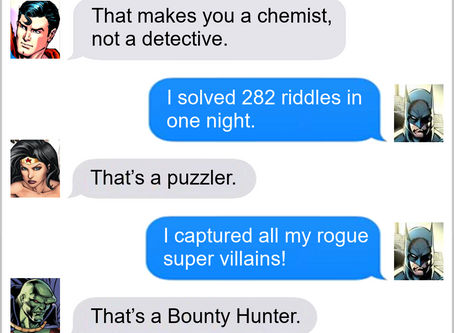 Texts From Superheroes: Job Description
