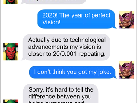 Texts From Superheroes: We See What You Did There