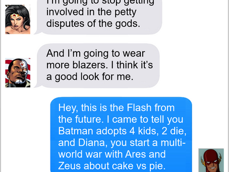 Texts From Superheroes: New Year, Who Dis?