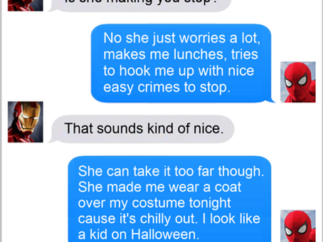 Texts From Superheroes: Bundle Up