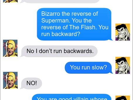 Texts From Superheroes: Fit The Job Title