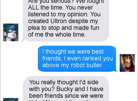 Texts From Superheroes: The Best of the Avengers