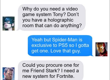 Texts From Superheroes: Is This A Game To You?