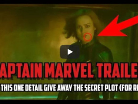 The Captain Marvel Trailer Gave Away The Twist (Video)