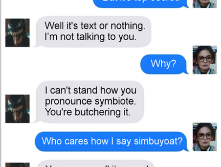 Texts From Superheroes: A Symbiote By Any Other Name