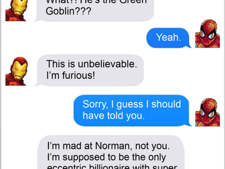 Texts From Superheroes: One and Only
