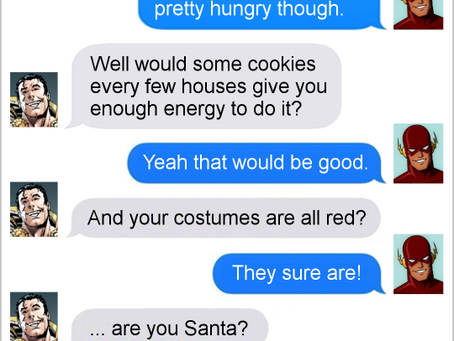 Texts From Superheroes: The Best of Shazam