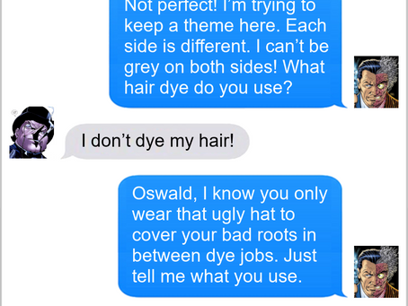 Texts From Superheroes: Perfect Balance