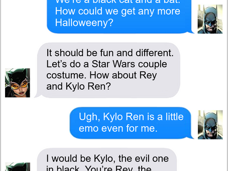 Texts From Superheroes: Full Halloween
