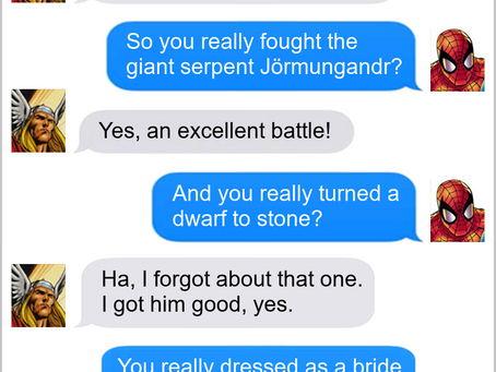 Texts From Superheroes: Legendary