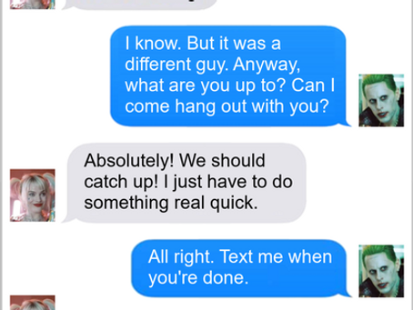 Texts From Superheroes: Mistaken Identity