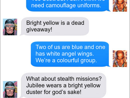 Texts From Superheroes: A New Look