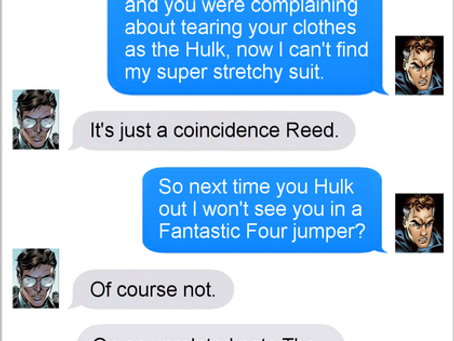 Texts From Superheroes: Use The Fource