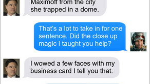 Texts From Superheroes: A Magic Combination