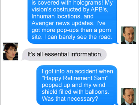 Texts From Superheroes: Happy Accident