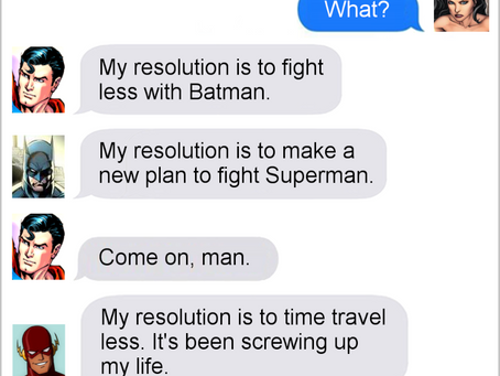Texts From Superheroes: Best of New Year's Eve