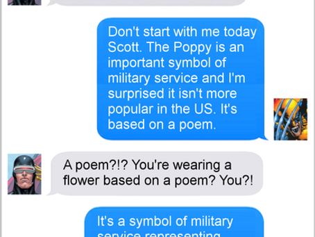 Texts From Superheroes: Painful Memories
