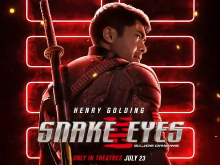 Talk From Superheroes: Snake Eyes