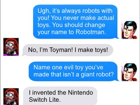 Texts From Superheroes: Criminal Genius