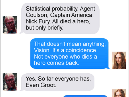 Texts From Superheroes: Die A Hero