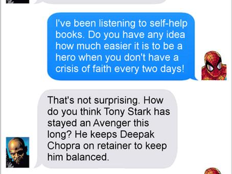 Texts From Superheroes: Balanced Avenger