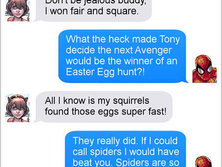 Texts From Superheroes: May The Best Hero Win
