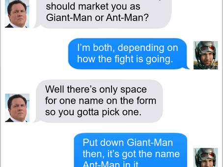 Texts From Superheroes: What's In A Name
