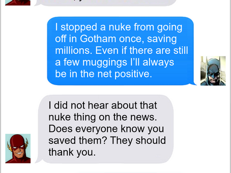 Texts From Superheroes: Assured