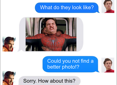 Texts From Superheroes: Not A Pretty Picture