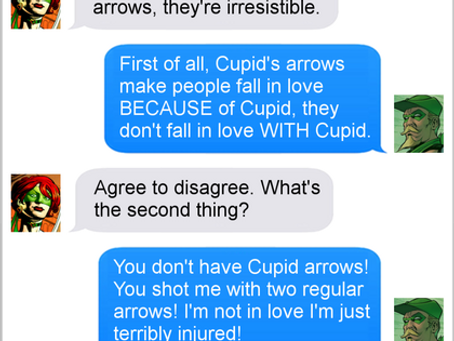 Texts From Superheroes: Love Hurts