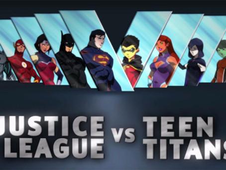 Talk From Superheroes: Justice League vs. Teen Titans