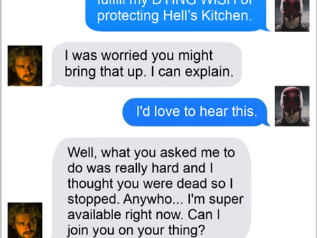 Texts From Superheroes: Hiring?