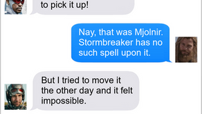 Texts From Superheroes: Worthy